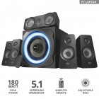 Акустическая система Trust GXT 658 Tytan 5.1 Surround Speaker System(21738)