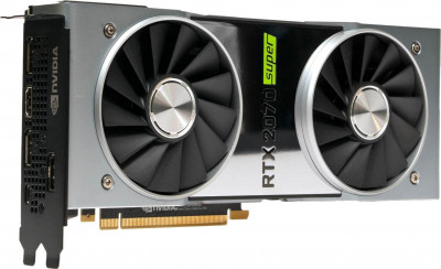 NVIDIA PCI-Ex GeForce RTX 2070 Super 8GB GDDR6 (256bit) (1605/14000) (USB Type-C, HDMI, 3 x DisplayPort) (900-1G180-2510-000)