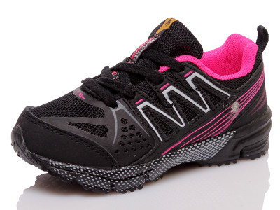 Кросівки I-Run 3515b2 black-hotpink-white-ROZ