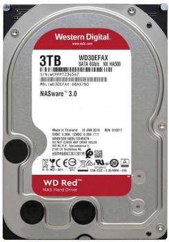 "Жорсткий диск Western Digital Red 3TB 5400rpm 256МB WD30EFAX 3.5"" SATA III"