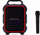 Акустика - караоке REMAX Song K outdoor portablae RB-X3 15W, 2200mAh + мікрофон, Black