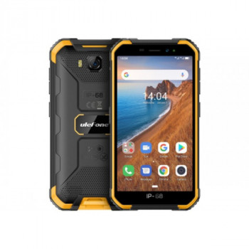 "Мобільний телефон Ulefone Armor x6 2/16GB yellow 5"" IP68 (384 smkr)"
