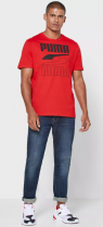Футболка Puma Rebel Tee 58348811 M High Risk Red (4062453409744) - изображение 4
