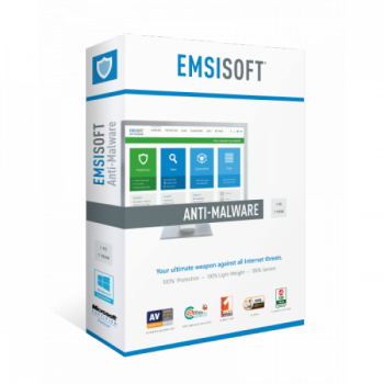 Emsisoft Enterprise Security 1 рік 8 ПК