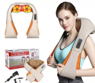 Массажер electric massager 220+12 w, Massager of neck kneading