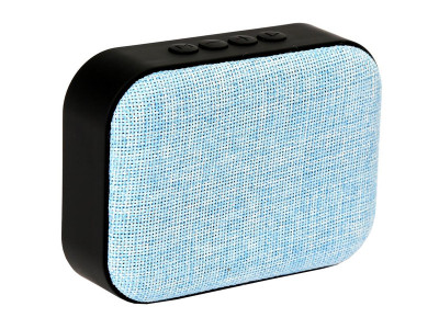 Портативна акустика Omega Bluetooth OG58DG Fabric Blue (OG58BL)
