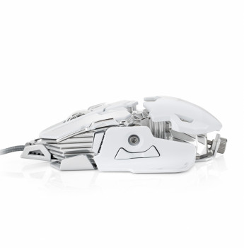 Мышь проводная ONIKUMA COMBATWING CW20 gaming mouse (white)