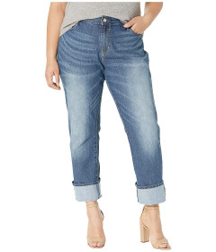 Джинси Signature by Levi Strauss & Co. Gold Label Plus Size Straight Blue Jeans, 26W 32L (10190361)