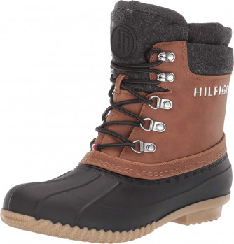 Зимові черевики Tommy Hilfiger Muddy Gray Multi Synthetic
