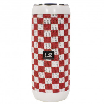 Беспроводная Bluetooth колонка LZ M128 Red + White (2957-8351а)