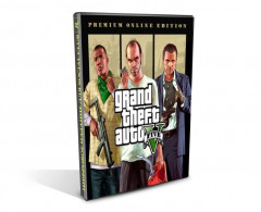 Grand Theft Auto V (GTA 5). Premium Online Edition (PC-KEY, русские субтитры, Активация в Social Club)