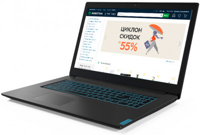 Ноутбук Lenovo IdeaPad L340-17IRH Gaming (81LL00H9RA) Granite Black