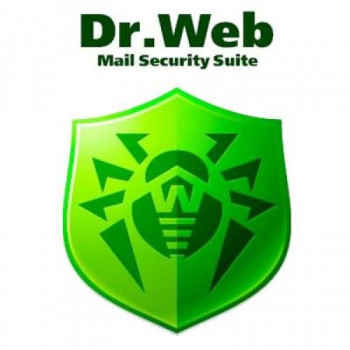 Антивірус Dr. Web Mail Security Suite+ ЦУ/ Антиспам/ SMTP-proxy 5 ПК 1 рік (LBP-AACS-12M-5-A3)