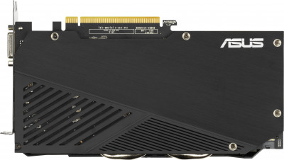 Asus PCI-Ex GeForce GTX 1660 Dual Advanced Edition EVO 6GB GDDR5 (192bit) (1830/8002) (DisplayPort, HDMI, DVI-D) (DUAL-GTX1660-A6G-EVO)
