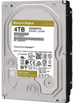 "Жесткий диск (HDD) Western Digital 3.5"" 4TB (WD4003FRYZ)"
