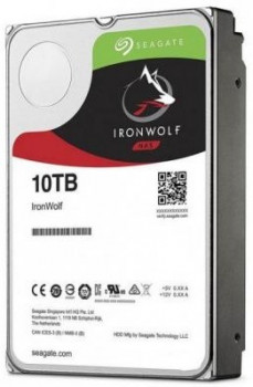 Жесткий диск (HDD) Seagate IronWolf NAS 7200rpm 256MB (ST10000VN0008) (ST10000VN0008)
