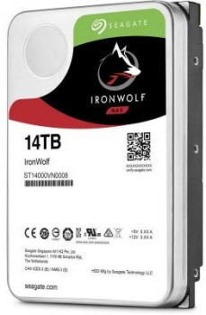Жесткий диск (HDD) Seagate IronWolf NAS 7200rpm 256MB (ST14000VN0008) (ST14000VN0008)