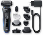 Электробритва-триммер BRAUN Series 5 50-B4650cs BLACK/BLUE - изображение 6