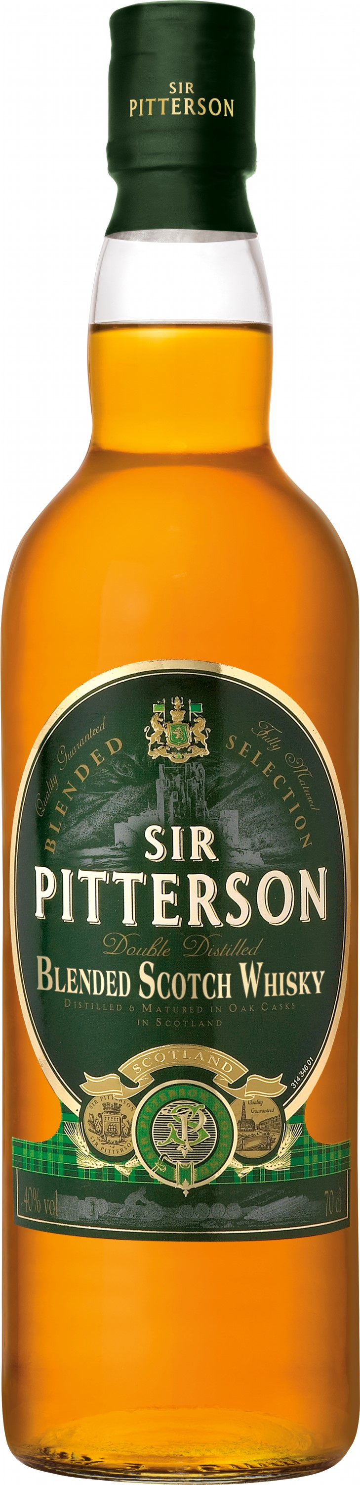 Виски Sir Pitterson Premium Blended Scotch Whisky 0.7 л 40% (3107872005342)