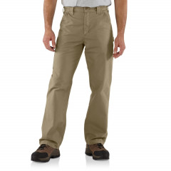Брюки Carhartt B151 Canvas Work Dungarees - Factory Seconds Dark Khaki , 40W 32L (11028895)