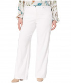 Джинсы NYDJ Plus Size Wide Leg Trouser w/ Clean Hem in Optic White Optic White, 16W 32L (10717582) - изображение 1