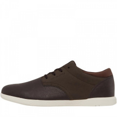 Кеди JACK AND JONES Jamie Pu Combo Trainer Java Dark Brown, 44 (11115881)