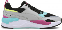 Кроссовки Puma X-Ray 2 Square 37310804 38.5 (5.5) 24.5 см Gray Violet-Gray Violet-Puma Black-ARUBA BLUE-Luminous Pink (4062453055026)