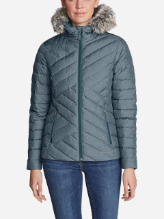 Пуховик Eddie Bauer Slate Mountain Down Jacket 4177LNB S Синяя