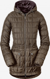 Пуховик Eddie Bauer Super Sweater Down Parka 5085MR XS Коричневый