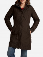 Куртка Eddie Bauer Girl On The Go Insulated Trench Coat 7347CC L Коричневая - изображение 1