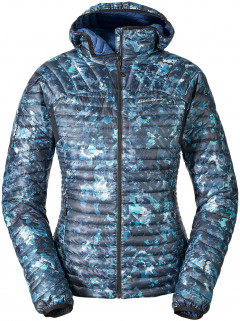 Пуховик Eddie Bauer MicroTherm StormDown Hooded Jacket 0927SP L Синяя