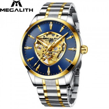 Годинник Megalith 8210M Silver-Gold - Blue