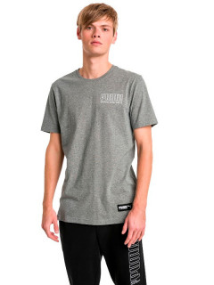 Футболка Puma Athletics Tee 85410603 S Medium Gray Heather (4060978726599)