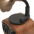 Портативная ретро-Bluetooth колонка Apollo Gramophone AS90 с USB, microSD - изображение 6