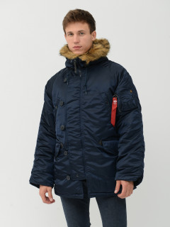 Парка Alpha Industries N-3B Parka S Replica Blue