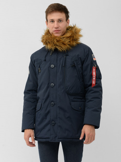 Парка Alpha Industries N-3B Alpine Parka MJN49503C1 2XL Replica Blue (640631825285) - изображение 1