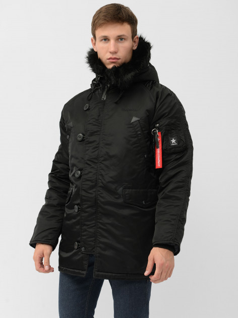 Парка Airboss Winter Parka XS Black (733447690564) - изображение 1