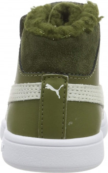 Черевики Puma Smash v2 Mid L Fur V PS Burnt Olive-Puma White