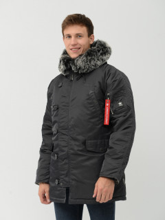 Парка Airboss Winter Parka XS Dark Grey/Silver (0703364662876_A)