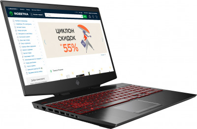Ноутбук HP Omen 15-dh1000ur (104J9EA) Shadow Black