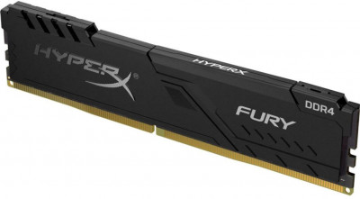 Оперативна пам'ять HyperX DDR4-2666 16384 MB PC4-21300 Fury Black (HX426C16FB4/16)