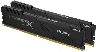 Оперативна пам'ять HyperX DDR4-2666 32768 MB PC4-21300 (Kit of 2x16384) Fury Black (HX426C16FB4K2/32)