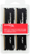 Оперативная память HyperX DDR4-3200 32768MB PC4-25600 (Kit of 2x16384) Fury Black (HX432C16FB4K2/32) - изображение 4