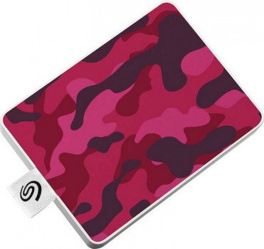 """Seagate One Touch Special Edition SSD 500GB 2.5"""" USB 3.0 Camo Red (STJE500405) External"""