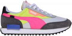 Кроссовки Puma Future Rider Play On 37114902 37 (4) 23 см White-Castlerock-Yellow Alert (4062451624408)