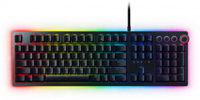 Клавіатура дротова Razer Huntsman Elite Linear Optical Switch USB (RZ03-01871000-R3M1)