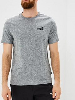 Футболка Puma Essentials Tee 85174103 S Medium Gray Heather (4059506776007)