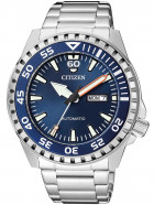 Часы Citizen NH8389-88LE Day-Date Automatik 46mm 10ATM - изображение 1