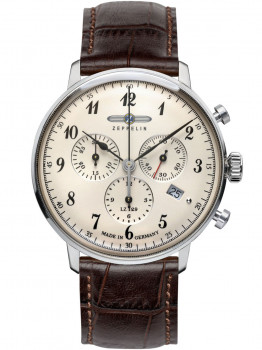Годинник Zeppelin Hindenburg Chrono 7086-4 40 mm