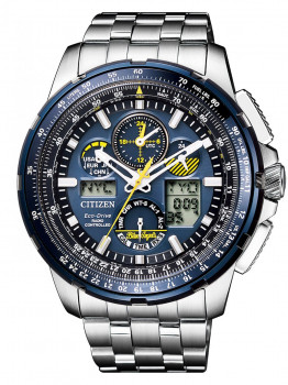 Часы Citizen JY8058-50L Promaster-Sky Blue-Angels Funk 48mm 20ATM